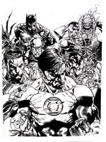 Green Lantern 62 Cover by NewEraStudios