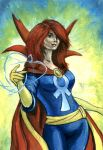 Mary Jane, Master of the mystic arts by grim1978