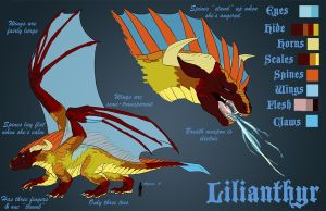 Lilianthyr - Reference Sheet by zeralia