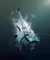 Frozen Guitar by ehaft