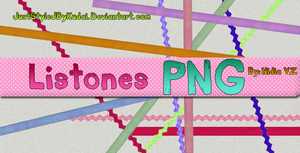 Listones pack PNG by juststyleJByKUDAI