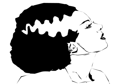 Bride of Frankenstein Vector by NonHoVoglia