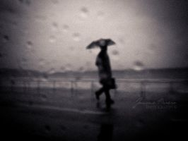 walking in the rain II by Catliv