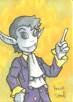 Timmy Sketch Card by ibroussardart
