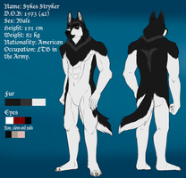 Sykes Stryker Reference Sheet 2015 by xAcidicCanine