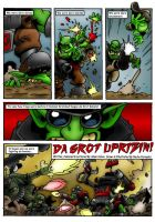 GROT UPRISING COMIC Page 1 by Proiteus