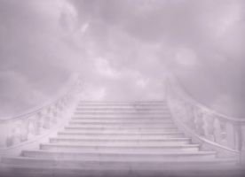 Stairway to the skies background by NataliaAlejandra