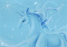 Unicorn - look how she sparkles by Crystal-Firefly