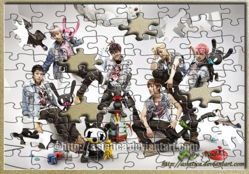 B.A.P And Matoki Jigsaw Puzzle by Asiatica