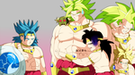 Too many Broly by JennyMax