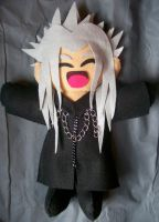 Xemnas Plush by lilnaruto