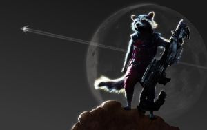 Rocket Raccoon (Guardians of the Galaxy) v2 by KalithDemoren