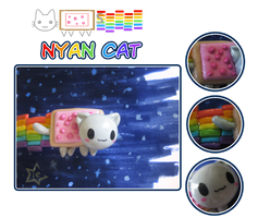 Nyan Nyan Nyan Cat by stariearth