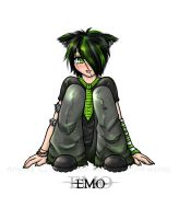 - Emo Meeko CG v2 - by JM-anime