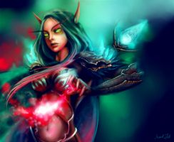 Blood Elf by Push-The-Limits