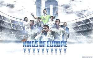 Real Madrid - Kings Of Europe by Rzr316
