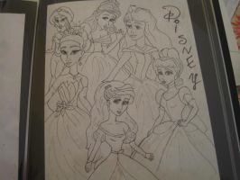 Disney princesses by CrapILostTheGame1999