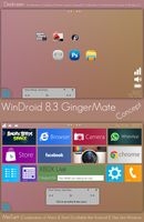 WinDorid 8.3 GingerMate Concept by cyogesh56
