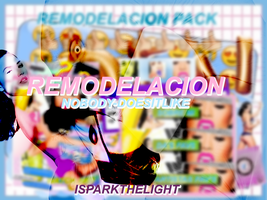 Remodelacion Pack // iSparkTheLight by iSparkTheLight