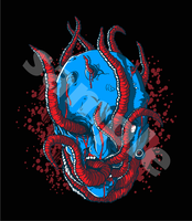 fresh object - evil worm by redcolour