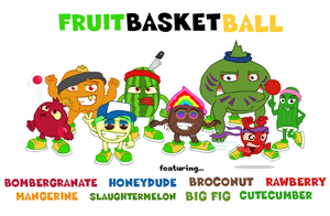 Tickld Challenge - FruitBasketBall - Team Squash by TheMonkeyWrench