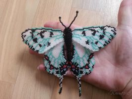 beaded butterfly by Karo1987