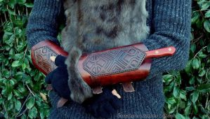 Fili bracers with knife by rassaku