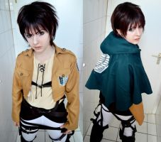 Eren Jaeger Testshot by Take-Ru