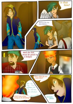 Evolution (Webcomic) - Page3 by KtronTheLordofTime