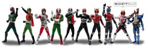 The 12 inch Riders by KYQ