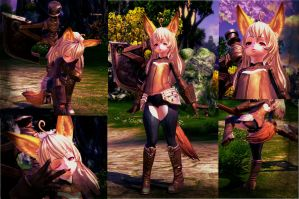 [TERA][Elin] New character by Helly-Chan135
