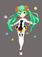 Linkage Miku by BirdPuppetX