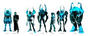 Blue Beetle: Reach Warriors by dou-hong