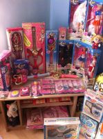 Updated Sailor Moon Collection by x-steffi-x