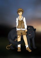 The Boy Who Cried Wolf by Lapin670