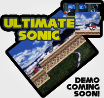 Ultimate Sonic Teaser Pic(Lost Ledges) by triplesonicX