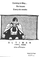 Ultiman mini-series ad 1986 by Joe-Singleton