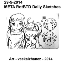 META RotBTD 2014 Daily Sketch 5-29 by veekaizhanez