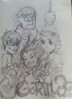Gorillaz in our midst by rugdog