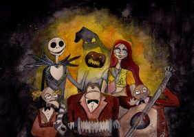 The Nightmare Before Christmas by imaginary0