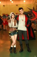 Kat and Dante - DmC - cosplay convent by LuckyStrike-cosplay