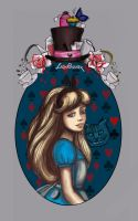 Alice in Wonderland -  # 9/ 360 by ladyphoenixskull