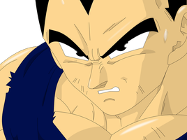Vegeta Boo Saga Color by PrinzessinVegeta