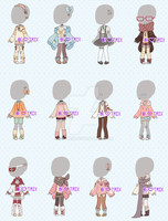 {A} :: Clothing Adopt Set Price 4 :: {{Open}} by BE-TRIX