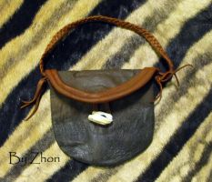 Cape Buffalo Pouch by Zhon