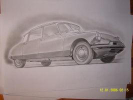 Citroen DS 19 finished by przemus
