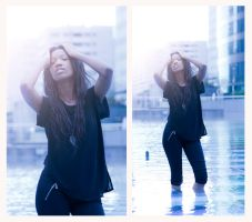 Cold water by ashevaan