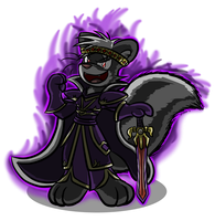 Skunk King by Virmir