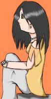 Waiting Colored by Aleiki