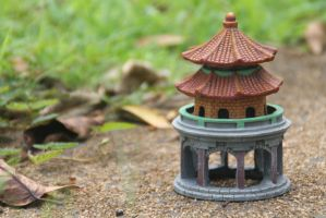 Peaceful Pagoda by JMCV29